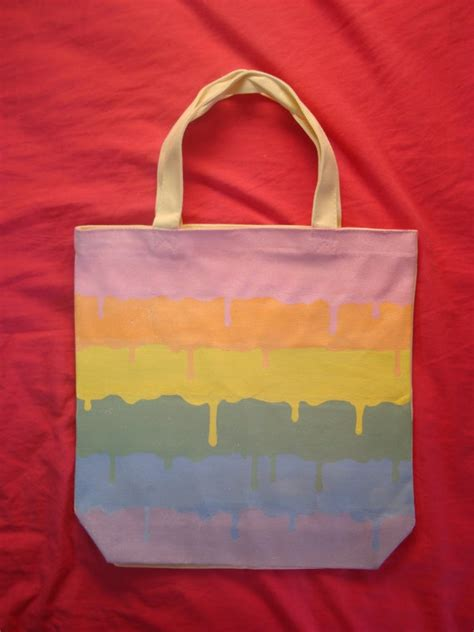 acrylic paint on a canvas bag 17 best ideas about painted canvas bags on