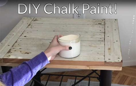 diy chalk paint made with baking soda how to make chalk paint with baking soda home garden pulse