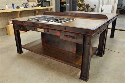 industrial kitchen island vintage industrial kitchen island vintage industrial furniture