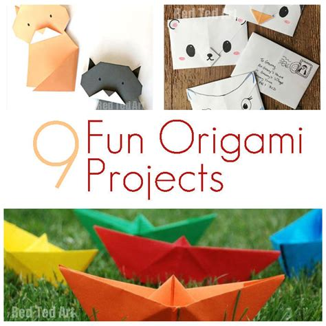 cool origami projects origami projects