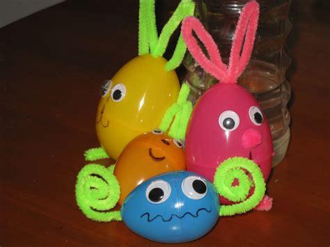 easter egg crafts for easy easter crafts plastic easter egg critters snake