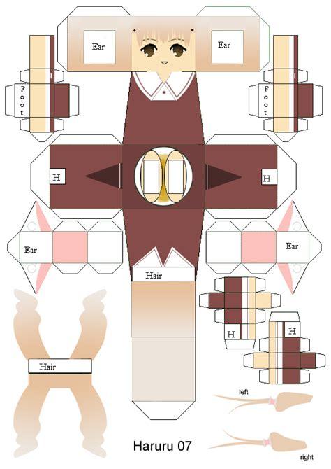 paper craft template papercraft link template