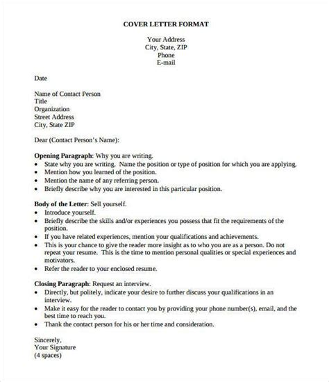 simple cover letter template 36 free sample example