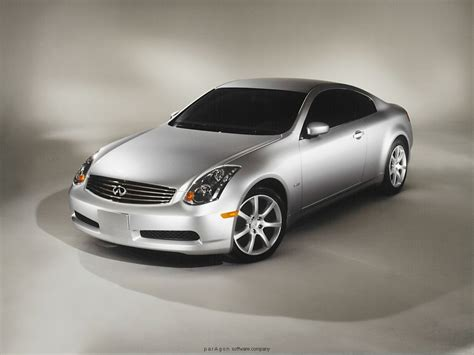 03 G35 Coupe by Silver Infiniti G35 Coupe 03 04 05 06 07 A Dash Z Racing