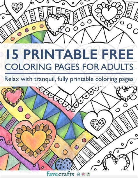 free picture book pdf 15 printable free coloring pages for adults pdf