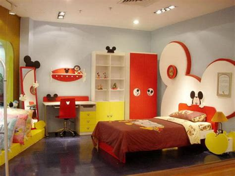 kid bedroom designs mickey mouse themed room designs and furniture