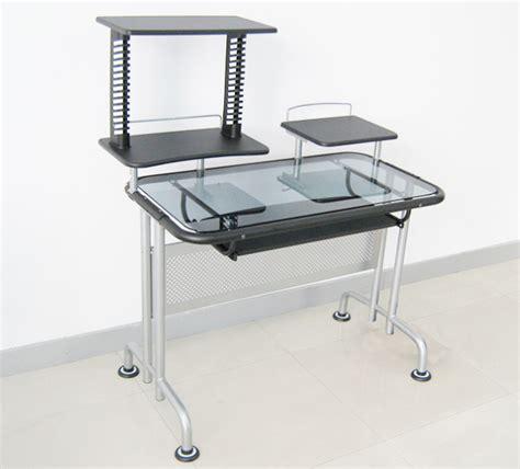 metal and glass computer desks china metal and glass computer desk hd 615 china
