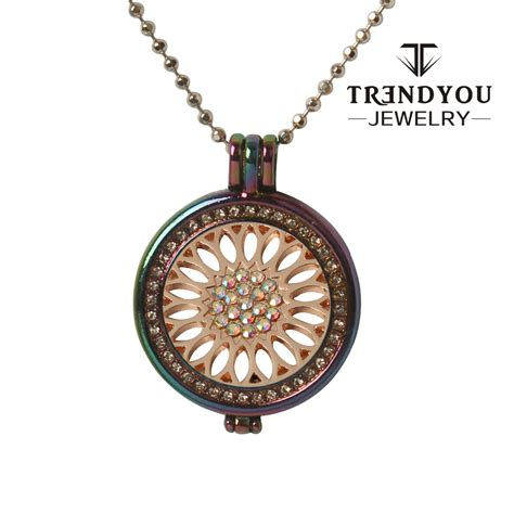 you jewelry trendyou jewelry coin colorful metal color pendant