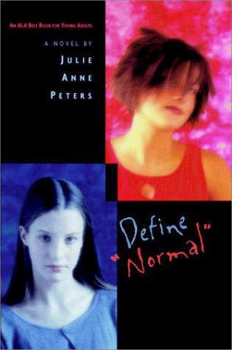 define picture book define normal by julie peters reviews discussion
