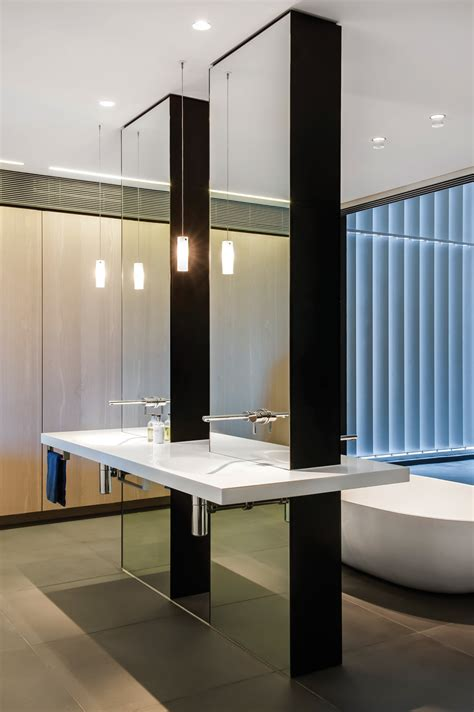 award winning futuristic bathroom design award winning bathroom design embraces aesthetics completehome