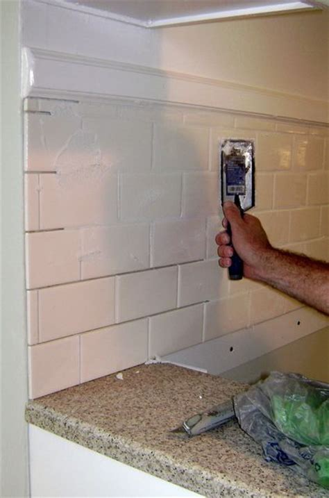 installing a backsplash in kitchen how to install a tile backsplash for my condo
