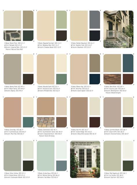20 best ideas about exterior paint schemes on