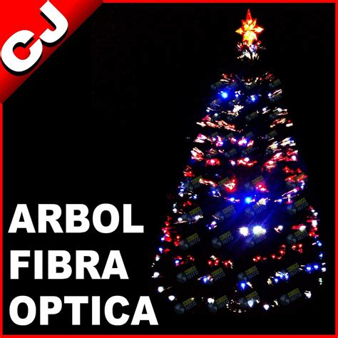 arboles de navidad con luces integradas arbol verde 210 fibra optica y luces led integradas