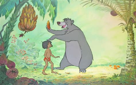 jungle book pictures original walt disney production cel on preliminary
