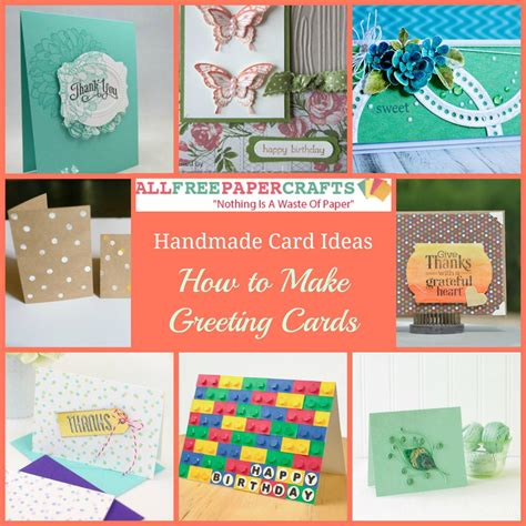 how to make a greeting card with paper 35 handmade card ideas how to make greeting cards