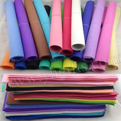 paper foam crafts 51pcs lot 1mm foam sheets sponge paper 17 color selection