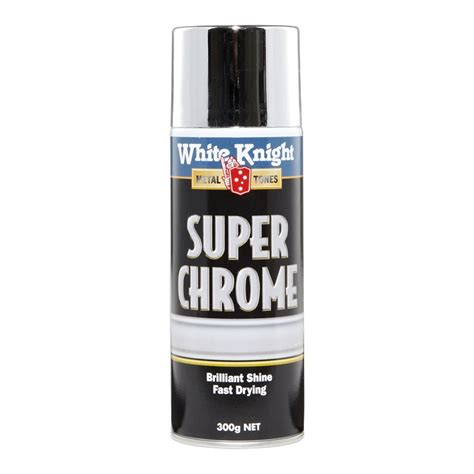 spray paint chrome white 300g chrome spray paint bunnings