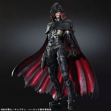 captain harlock scully reviews space pirate captain harlock