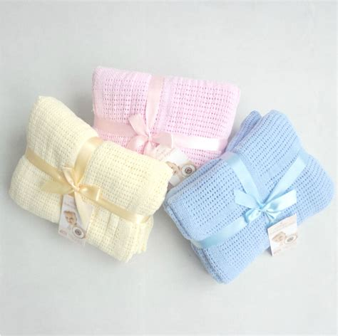 knitted blankets for sale new 100 cotton baby knitted breathable props blanket
