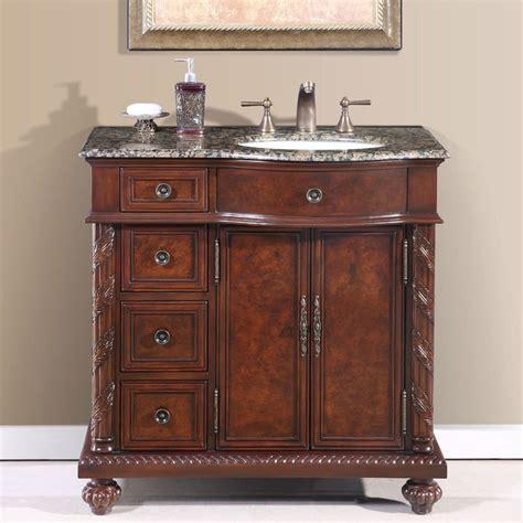 sink bathroom vanities with granite top shop silkroad exclusive undermount single sink