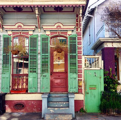 new orleans colorful houses paint that house then add shutters the jungalowthe