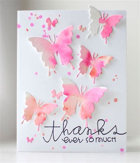 25 Best Ideas About Butterfly Cards On Magic