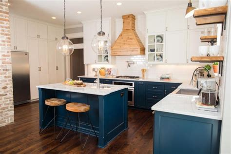 blue color kitchen cabinets 23 gorgeous blue kitchen cabinet ideas