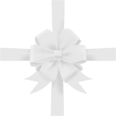 white ribbon white bow ribbon icon3 vector data svg vector