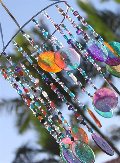 suncatcher craft for diy sun catcher wind chime stay at home
