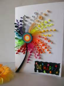 how to make paper quilling greeting cards 25 unique quilling birthday cards ideas on