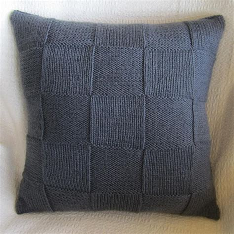 Geometric Cushion Decorative Knit Pillow Geometric