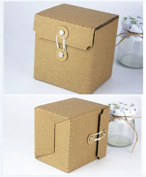 cardboard paper craft square kraft kraft corrugated cardboard paper gift box