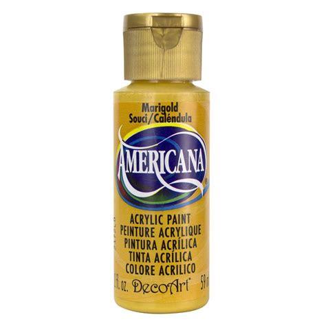 Decoart Americana 2 Oz Marigold Acrylic Paint Da194 3