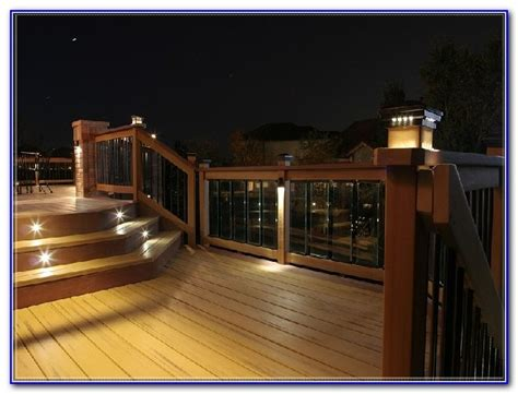 solar deck lighting systems solar deck lighting systems decks home decorating