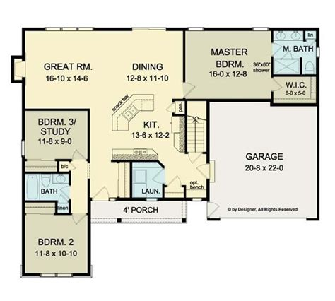 ranch style open floor plans cool open floor plans ranch homes new home plans design