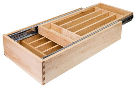 kitchen cabinet drawer organizers nested cutlery drawer for 24 inch base cabinet