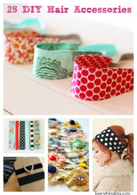 how to make hair jewelry 25 diy hair accessories to make now