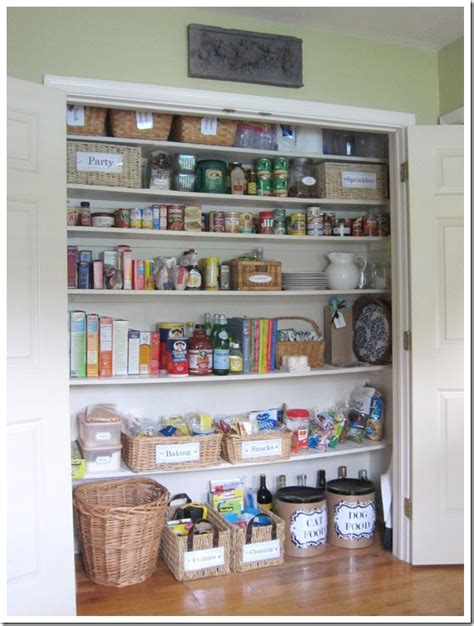 kitchen closet ideas 14 inspirational kitchen pantry makeovers home stories a