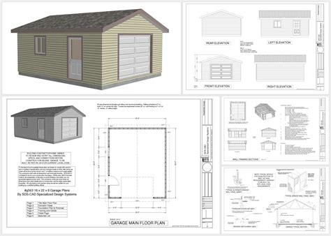plans for building a garage garage plans sds plans
