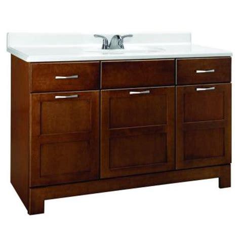 home depot bathroom vanities 48 casual 48 in w x 21 in d x 33 5 in h vanity cabinet