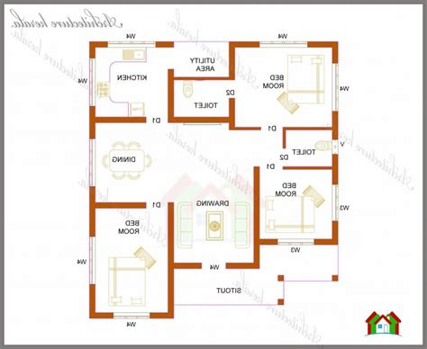 three bedroom house plans kerala style 1200 sq ft house plans kerala photos