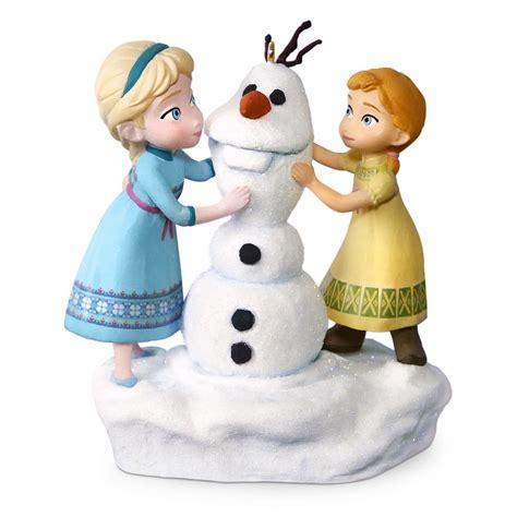 hallmark disney ornaments 2016 disney s do you want to build a snowman hallmark