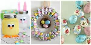 easy crafts to make as gifts 60 easy easter crafts ideas for easter diy decorations