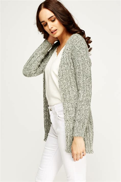 knit open front cardigan speckled knit open front cardigan just 163 5
