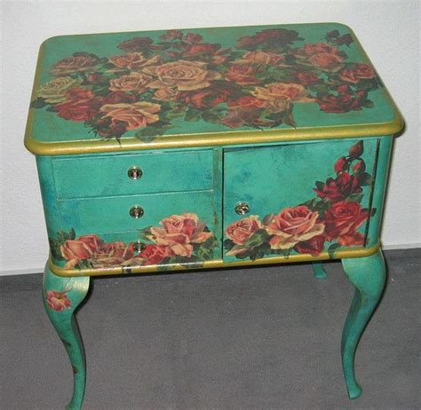 decoupage on wood furniture best 25 decoupage table ideas on decoupage