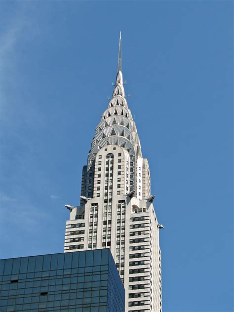 Chrysler Building New York City by File New York City Chrysler Building 01 Jpg Wikimedia