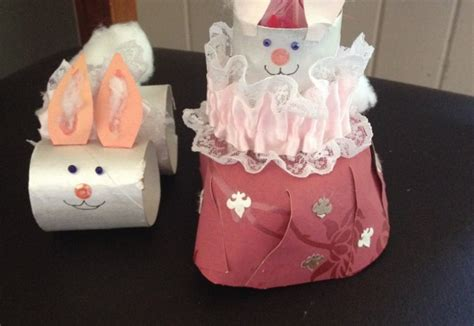 easter craft toilet paper roll easter bunny toilet paper roll bunnies arts crafts and diy