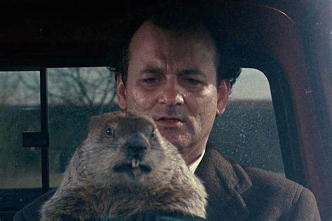 groundhog day buster bill murray seen visibly sobbing at groundhog day