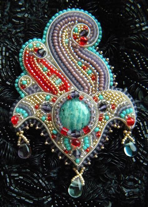 beaded embroidery custom design jewelry beaded jewelry gemstone jewelry