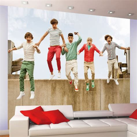 one wall murals one direction 1d wall mural wallpaper official ebay